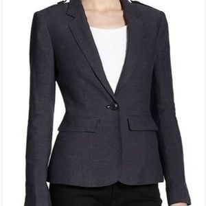 Burberry Bremworth fitted blazer size 4